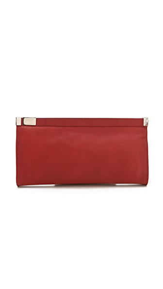 Maison Martin Margiela Zip Lock Oversized Clutch