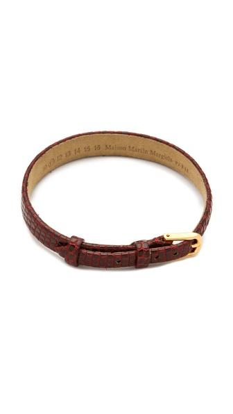 Maison Martin Margiela Lizard Friendship Bracelet
