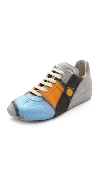 Maison Martin Margiela Limited Edition Cement Sneakers