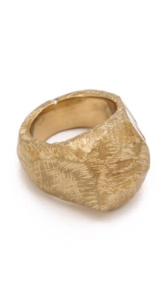 Maison Martin Margiela Signet Rock Ring