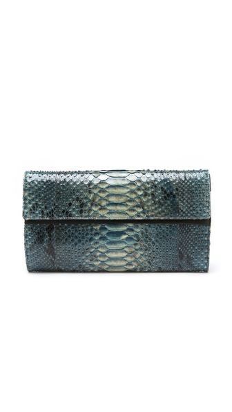 Maison Martin Margiela Oversized Python Clutch