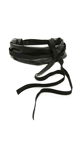 Maison Martin Margiela Leather Wrap Belt