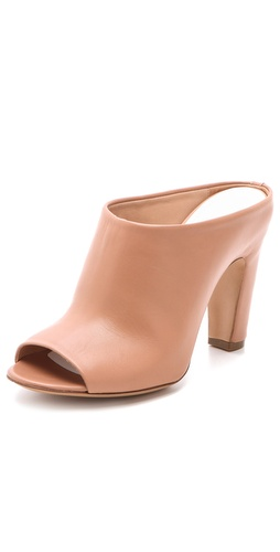 Maison Martin Margiela Curved Heel Mules at Shopbop.com
