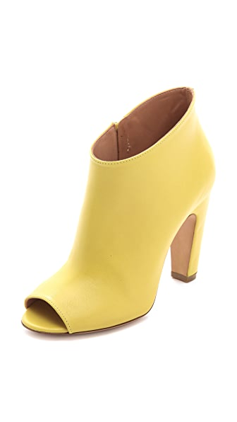 Maison Margiela Curved Heel Booties