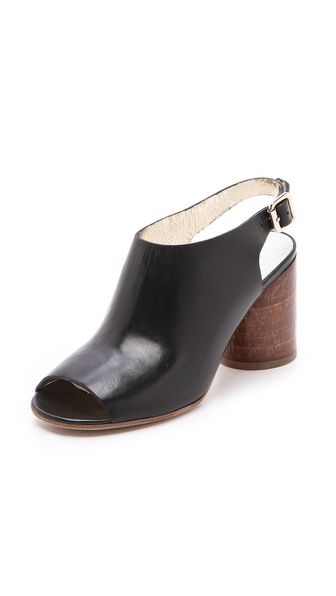 Maison Martin Margiela Round Heel Slingback Booties