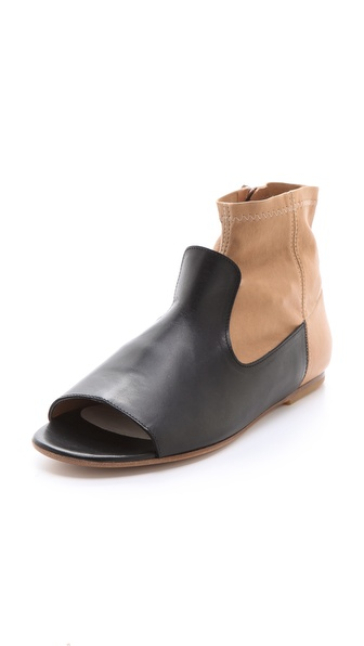 Maison Martin Margiela Trompe l'Oeil Flat Booties