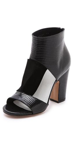 Maison Martin Margiela Peep Toe Strap Sandals