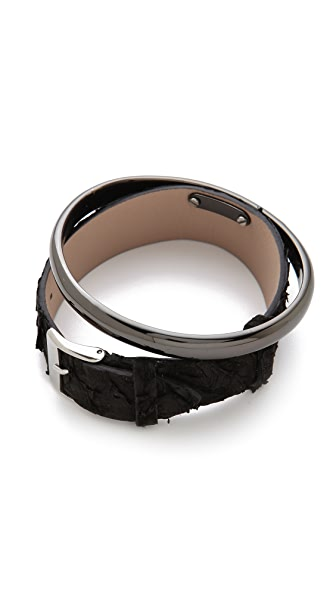Maison Martin Margiela Leather Bracelet