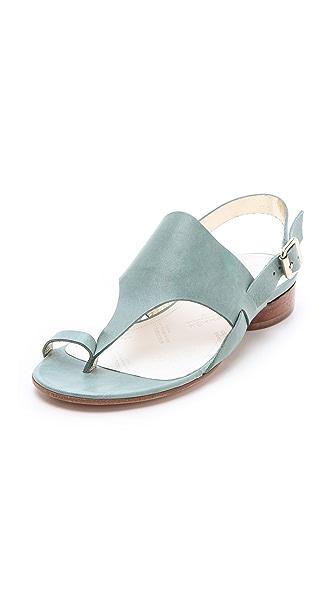 Maison Martin Margiela Strapped Flat Sandals