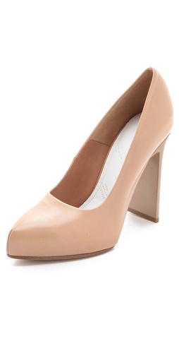 Maison Martin Margiela Leather Pumps at Shopbop.com