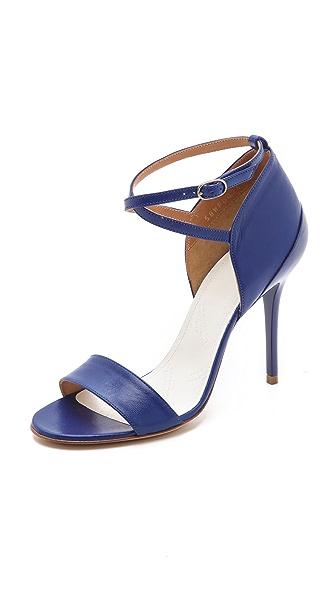 Maison Margiela Strapped Heel Cap Sandals