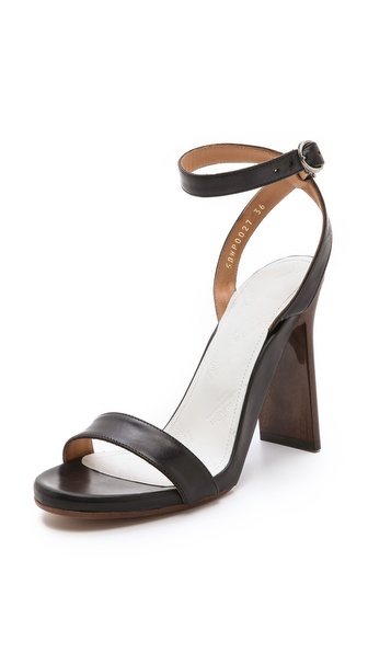 Maison Martin Margiela Wood Grain Heel Sandals
