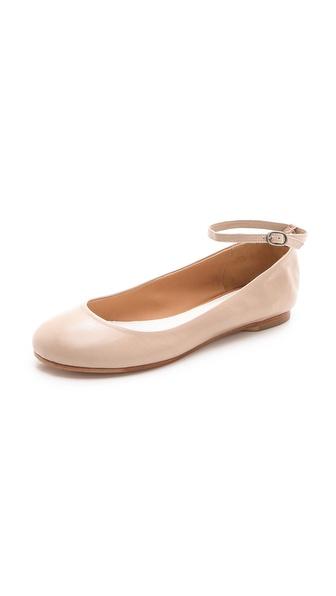 Maison Martin Margiela Ankle Strap Ballerina Flats
