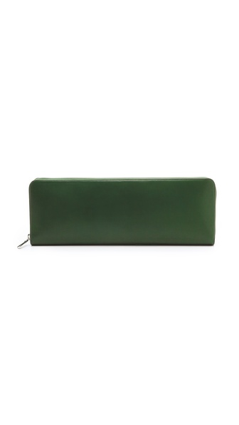 Maison Martin Margiela Leather Oversized Clutch