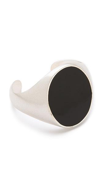 Maison Margiela Silver & Black Bracelet