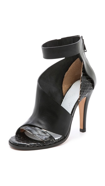 Maison Martin Margiela Layered Leather Sandals