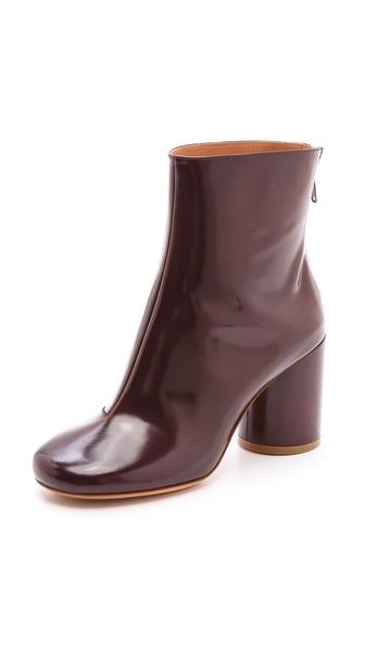 Maison Martin Margiela Round Heel Booties
