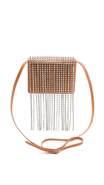 Maison Martin Margiela Cross Body Bag with Crystals