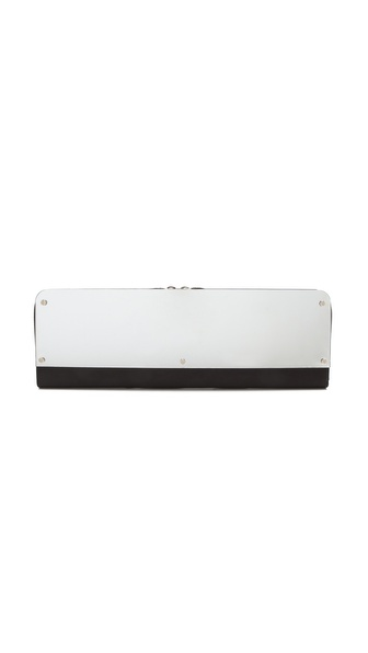 Maison Martin Margiela Leather Mirror Clutch