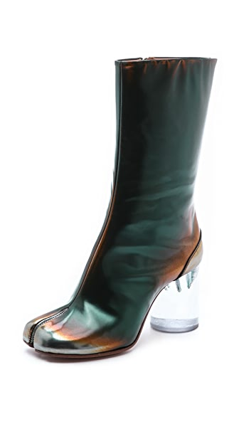 Maison Margiela Brushed Effect Tabi Boots