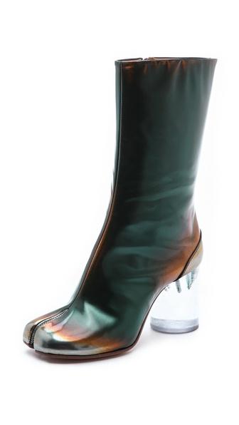 Maison Martin Margiela Brushed Effect Tabi Boots
