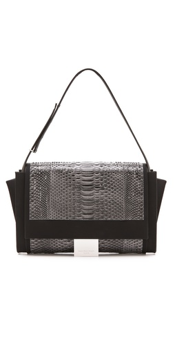 Maison Martin Margiela Python Leather Shoulder Bag at Shopbop / East Dane