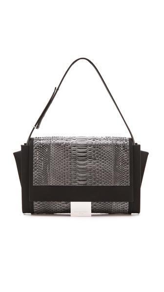 Maison Martin Margiela Python Leather Shoulder Bag