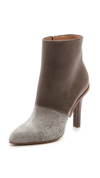 Maison Martin Margiela Spangled Two Tone Booties