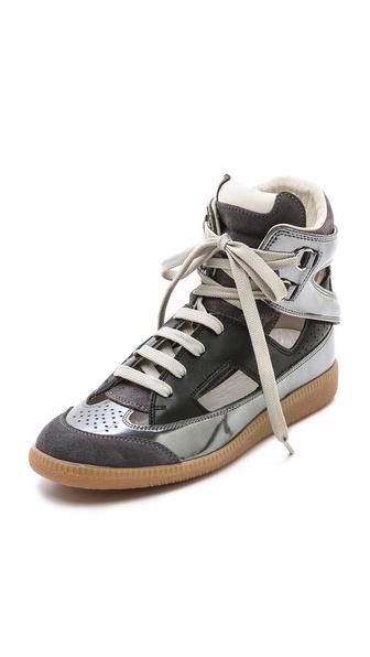 Maison Martin Margiela Cutout Mirrored Sneakers