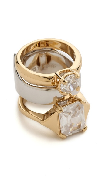 Maison Martin Margiela Double Faux Diamond Ring