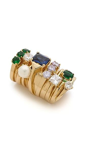 Maison Martin Margiela Stacked Faux Diamond Ring