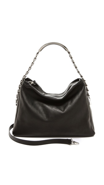 Maison Martin Margiela Leather Name Tag Handbag