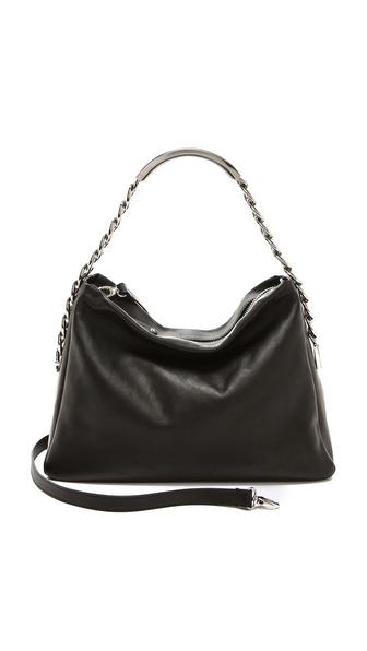 Maison Martin Margiela Leather Name Tag Handbag