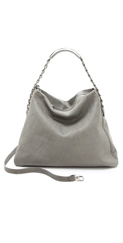 Maison Martin Margiela Leather Name Tag Handbag at Shopbop / East Dane