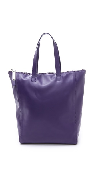 Maison Martin Margiela Leather Top Stitch Tote