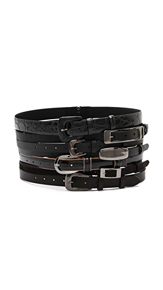 Maison Margiela Multi Leather Belt
