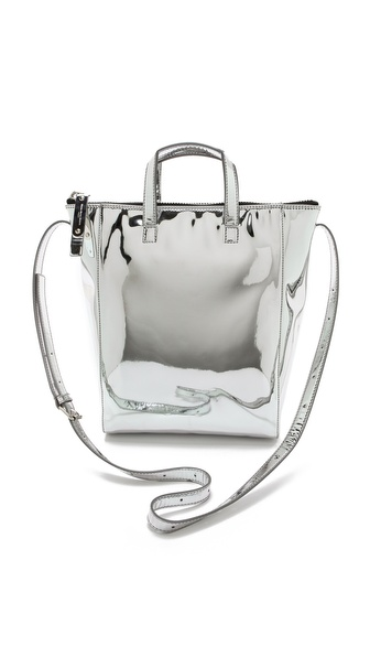 Maison Martin Margiela Mirrored Faux Leather Tote
