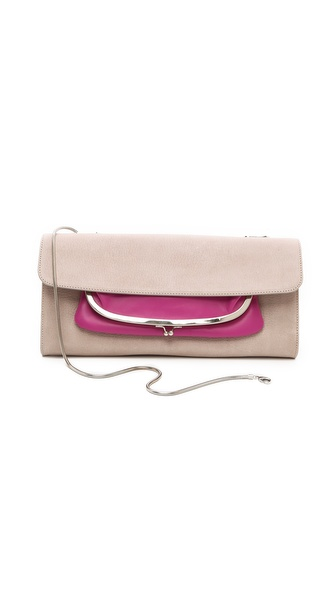 Maison Martin Margiela Bicolor Leather Clutch