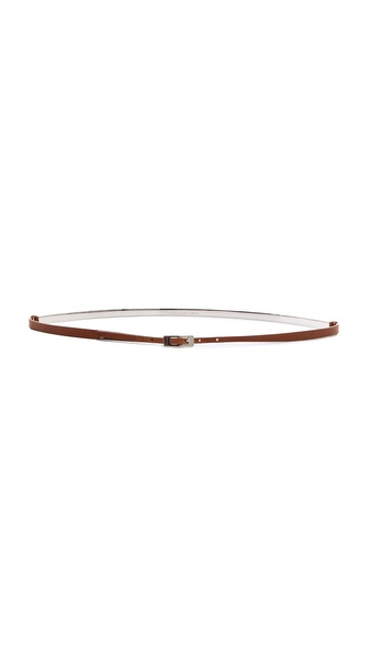 Maison Martin Margiela Curved Bar Leather Belt