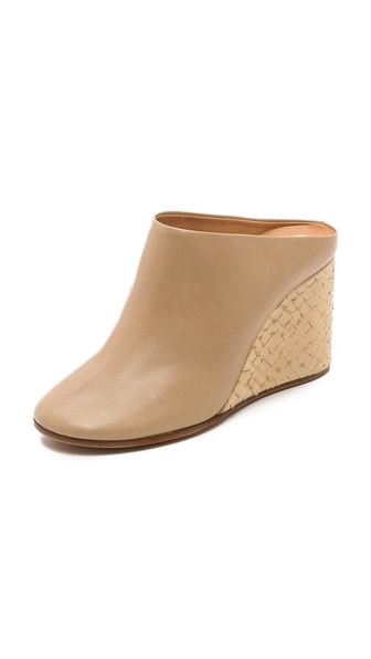Maison Martin Margiela Leather Mules - Flash at Shopbop / East Dane