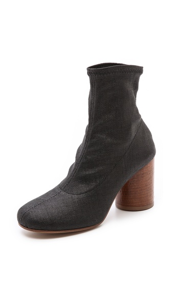 Maison Martin Margiela Booties with Hammered Heel