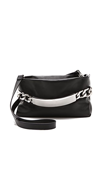 Maison Martin Margiela Chain Lock Leather Clutch