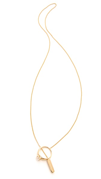 Maison Martin Margiela Solitaire Lariat Necklace