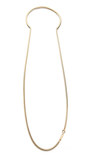 Maison Martin Margiela Snake Chain Necklace