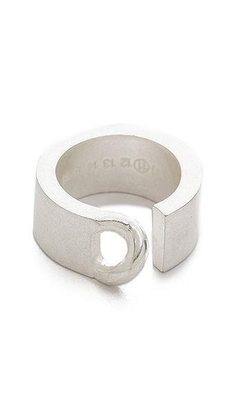 Maison Margiela Silver Tone Ring