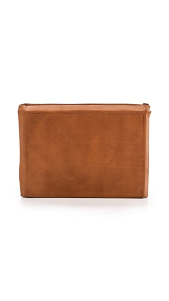 Maison Margiela Leather Book Clutch