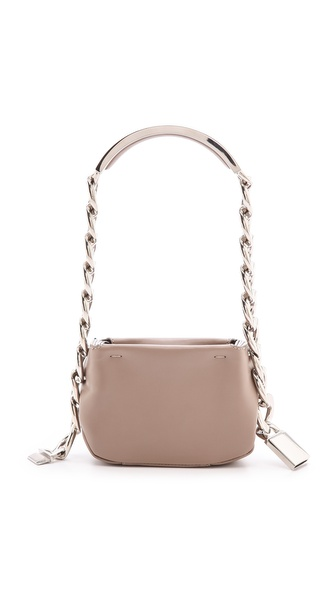 Maison Martin Margiela Leather Mini ID Shoulder Bag