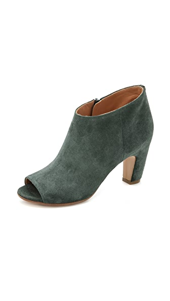 Maison Martin Margiela Suede Low Top Booties