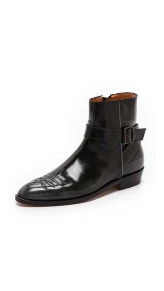 Maison Martin Margiela Tooled Leather Booties