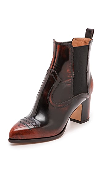 Maison Martin Margiela Tooled Leather Booties